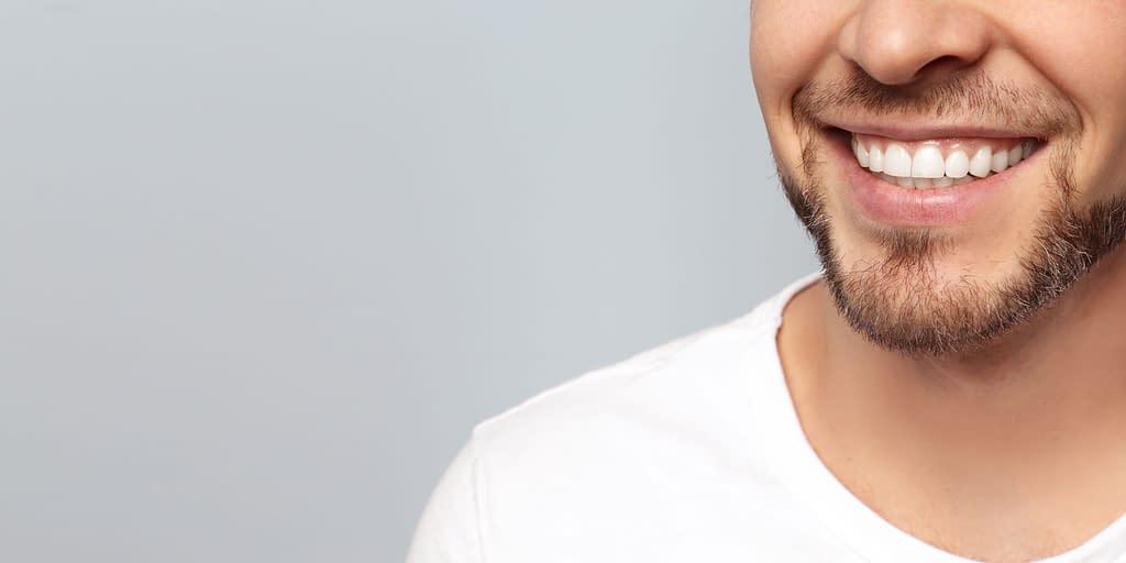 pinhole treatment patient smiling